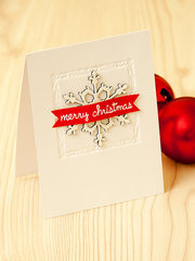 Blue Fern Studios Merry Christmas Card