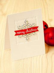 Blue Fern Studios Merry Christmas Card