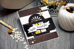 Hello Beautiful – A Shuttered Window Card. Card A Month #13