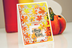 Fall Kisses Card