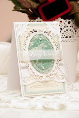 Spellbinders Loving Wishes Card