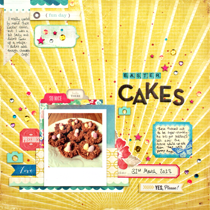 Easter Cakes *Crate Paper*