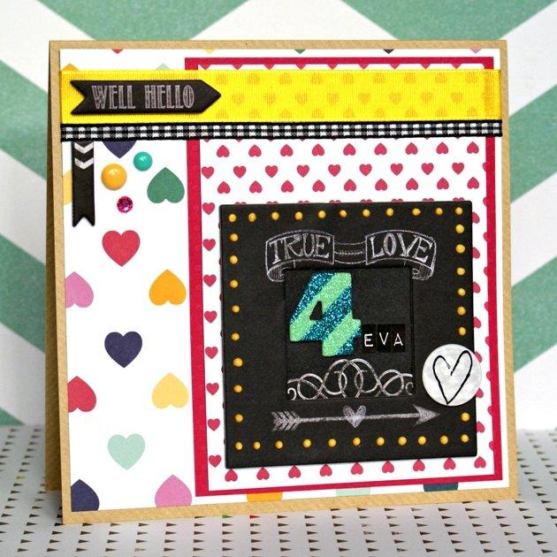 True Love 4Eva (Valentines Card)