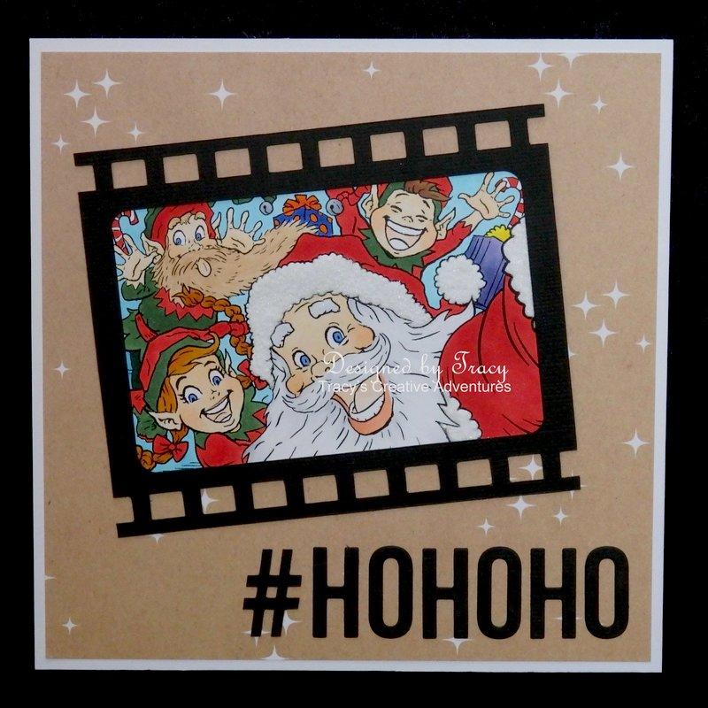 hashtag Christmas card
