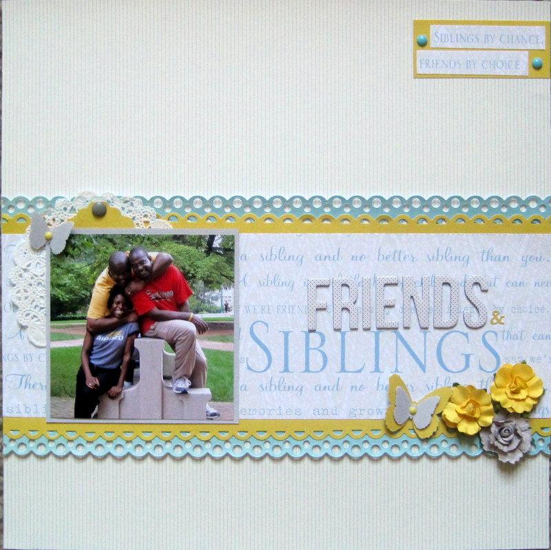 Friends and Siblings