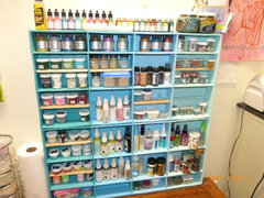 embellishment storage before and after