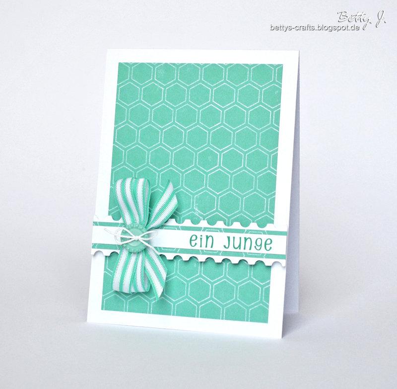 a boy card