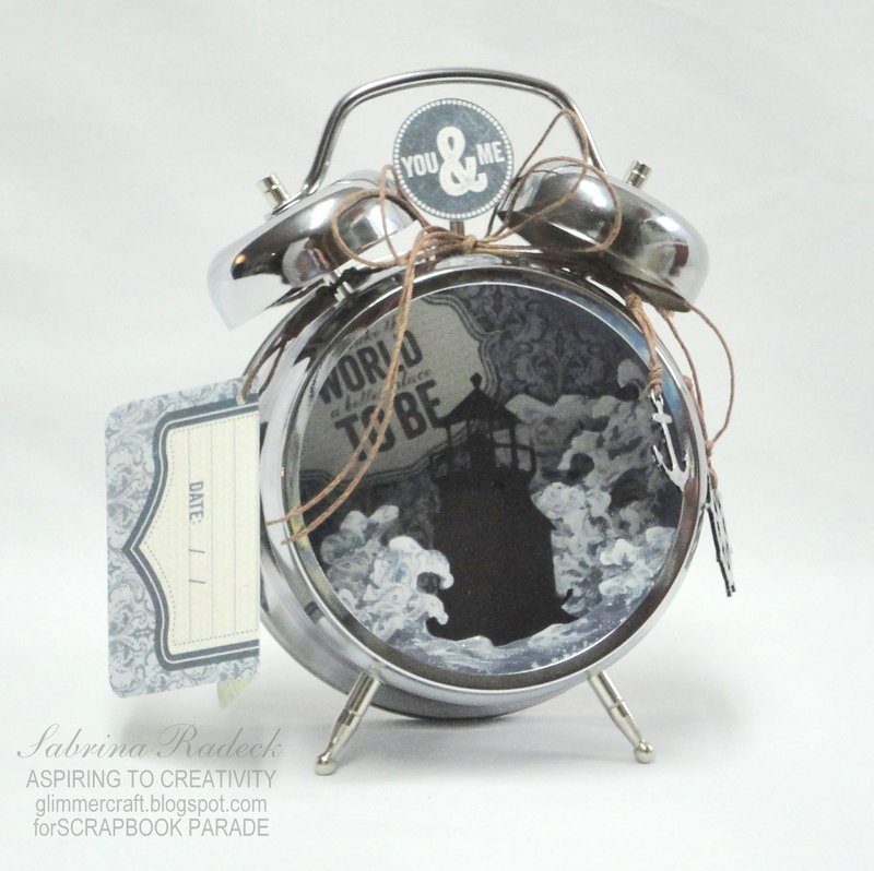Lighthouse in a Clock -a