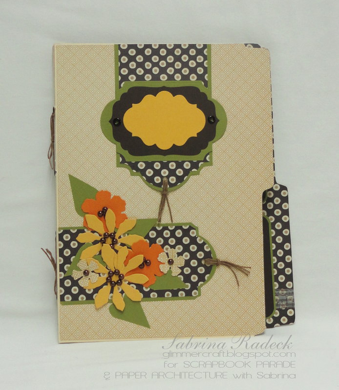 File Folder Scrapbooking #1