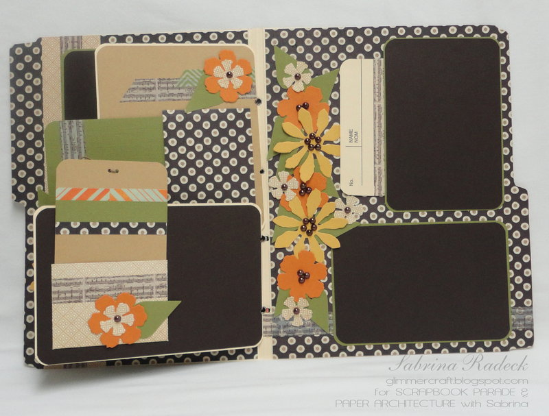 File Folder Scrapbooking #4