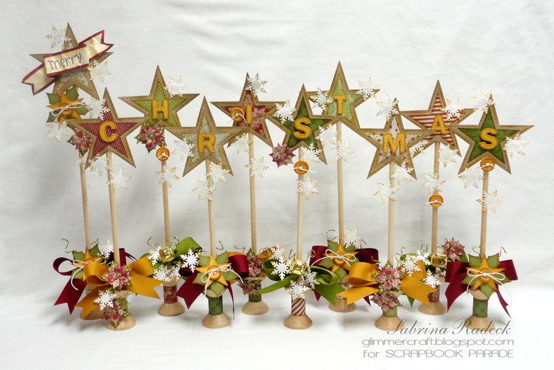 Christmas Stars Greeting