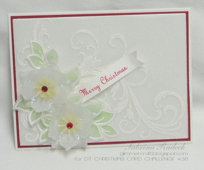 Non-Traditonal Christmas Image - DT Christmas Card Challenge #38