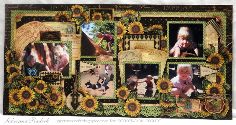 """""""Joie de Vivre"""" G45 French Country Double Layout"""