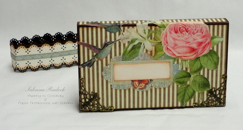 Wallet Mini-Album - G45 Botanical Tea