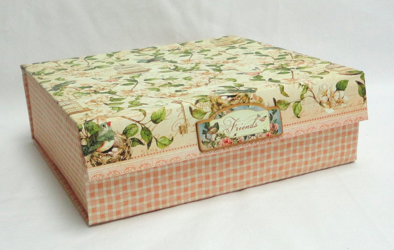 Repurposed Box & Card Set Gift