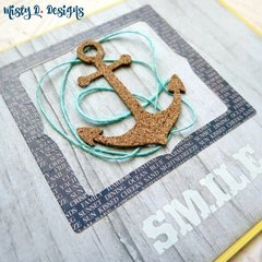 Nautical Themed Smile Card