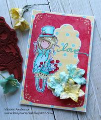 Gorjuss love card