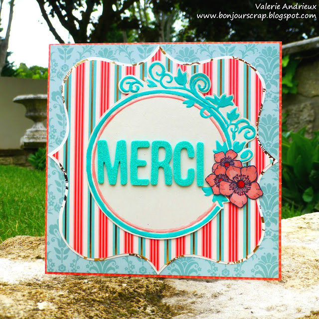 Thank you / Merci card