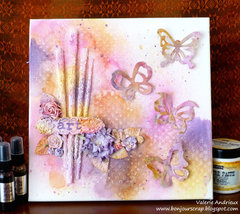 Altered brushes canvas