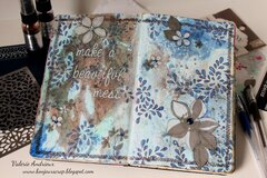 Make a beautiful mess Art Journal pages