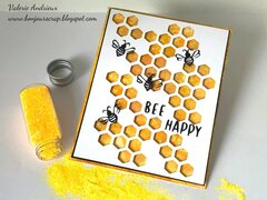 Bee Happy card