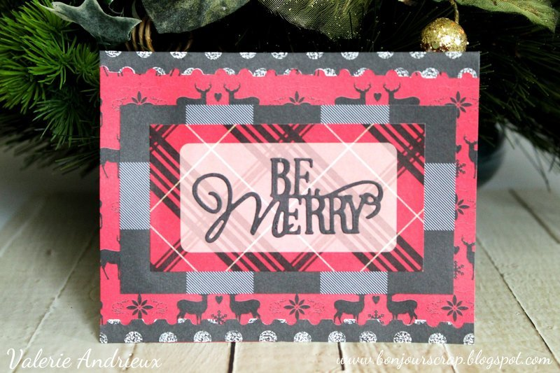 Be merry - A Christmas card