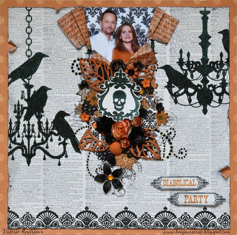 Diabolical Party - Halloween layout
