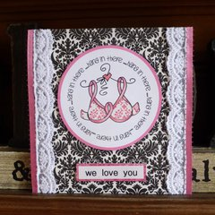Breast cancer fighting card