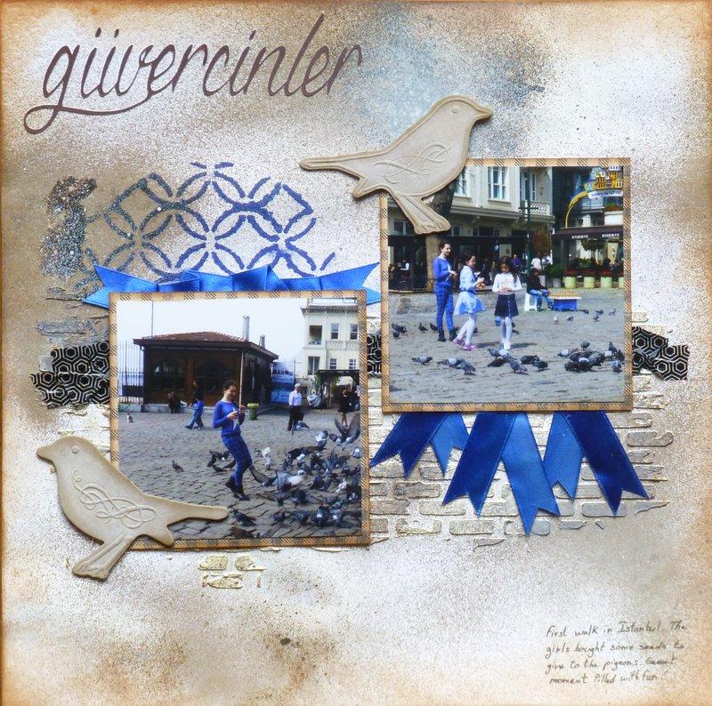Guvercinter (pigeons in turkish)