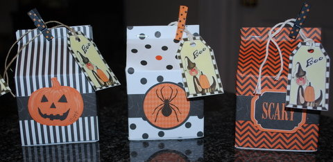 Halloween Treat Cartons