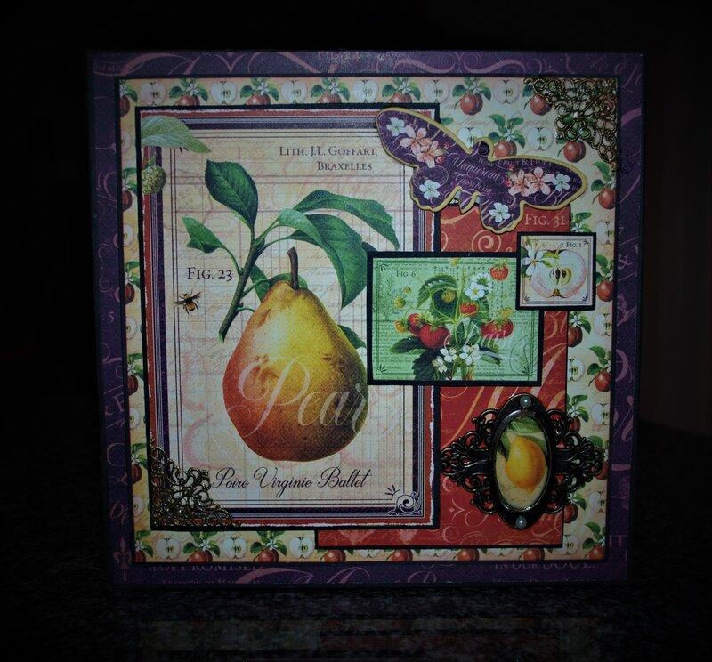 Graphic 45 Fruit & Flora Paper