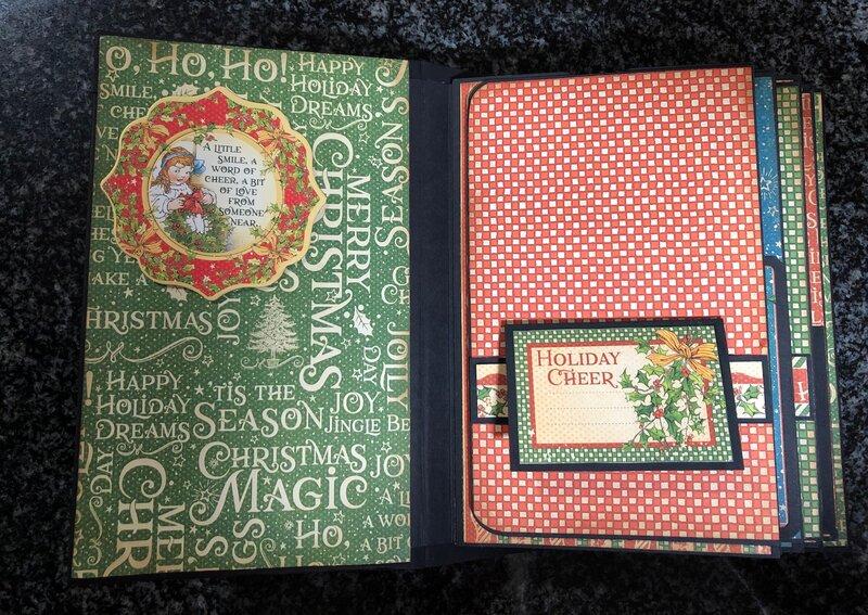 Graphic 45 Christmas Magic Mini Album