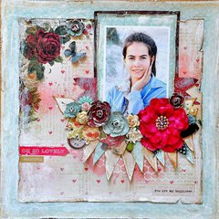 Scraps of Elegance, June kit. 'My Happiness'