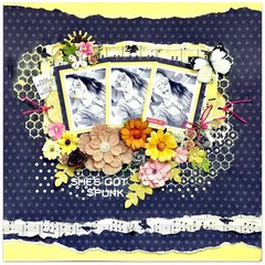 Scraps of Elegance kits 'She's Got Spunk'.