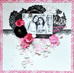 Scraps of Elegance kits 'Hello Summer Girls