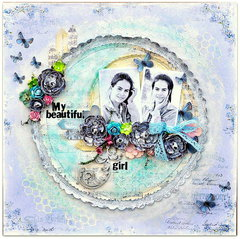 'My Beautiful Girl' for Sizzix/Inkido