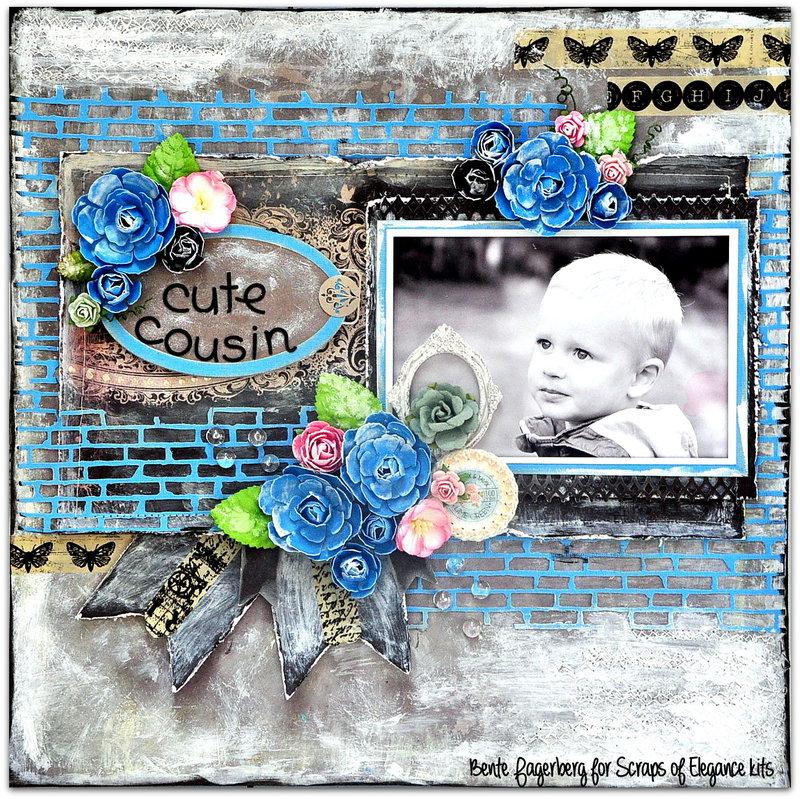 Scraps of Elegance kits- 'Cute Cousin'