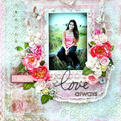 Love Always *Scraps of Elegance * January kit