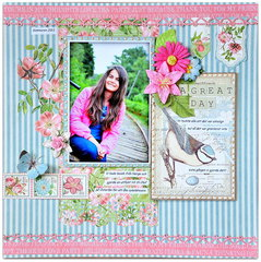 Scraps of Elegance kit March 'A Great Day'