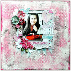 Scraps of Elegance kits '' I Love You''