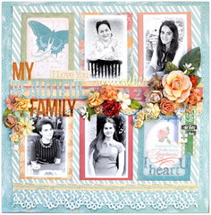 'My Beautiful Family' for Les Papiers de Pandore