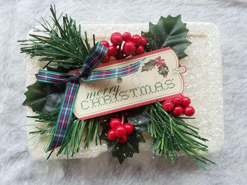 Christmas Embellishment box for Norma