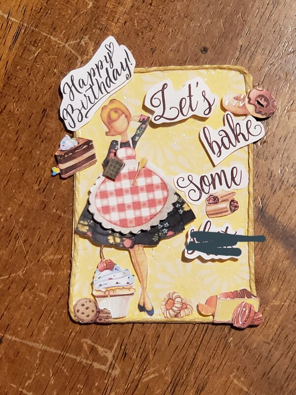JUNE & JULY ATC Birthday