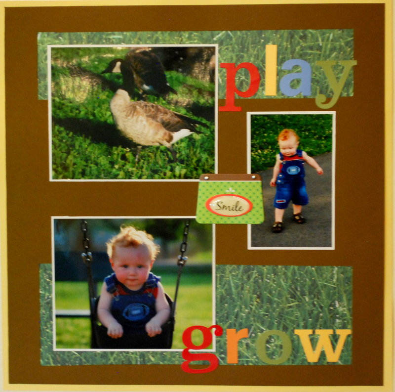 Play, Smile, Grow