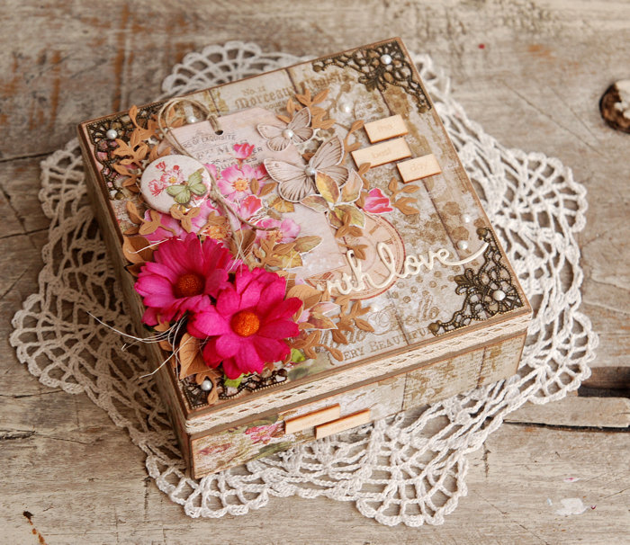 Vintage box for jewellery