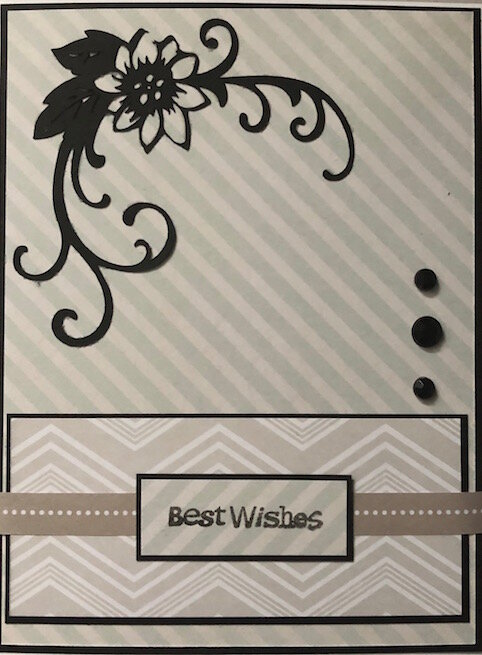 Best Wishes - flower