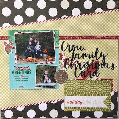 2017 - Our Christmas Card
