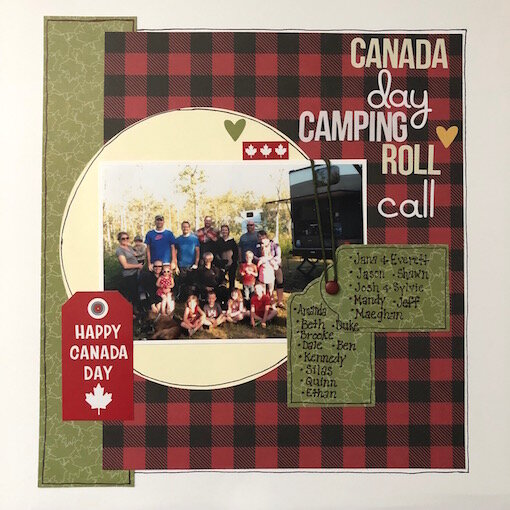Canada Day Camping Roll Call