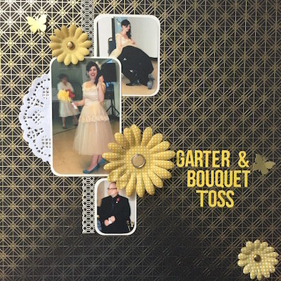 Garter & Bouquet Toss