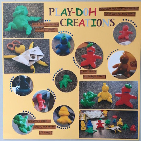 Play Doh Creations